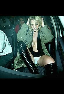 Emily Oldfield upskirt paparazzi photos