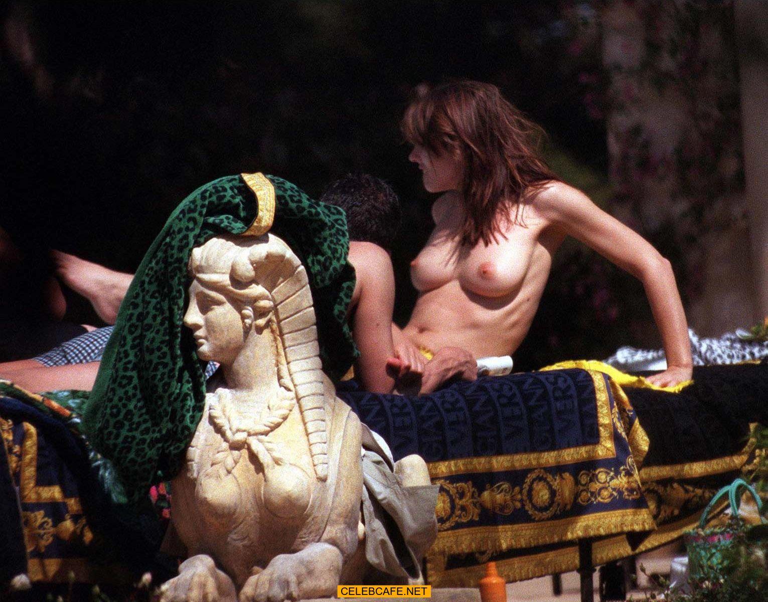 Hurley nude elizabeth upskirt