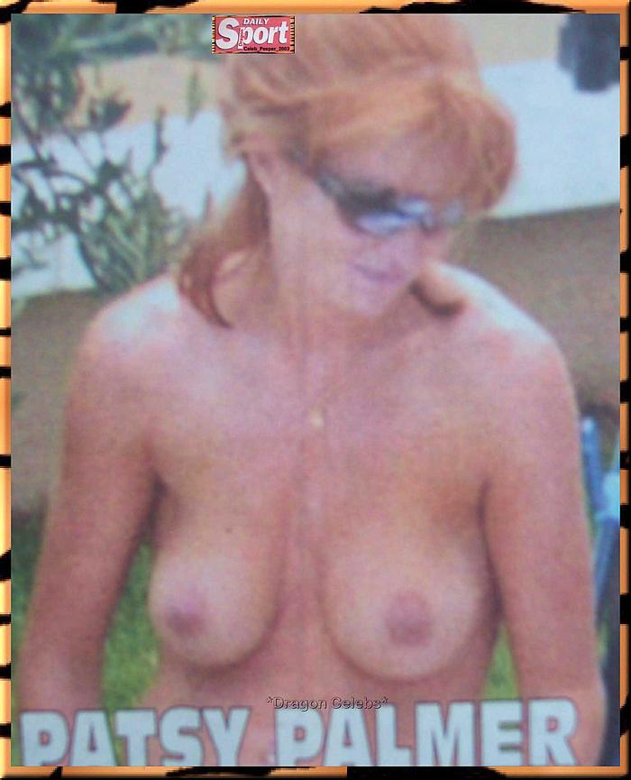 Patsy Palmer exposed her nude tits paparazzi shoyts