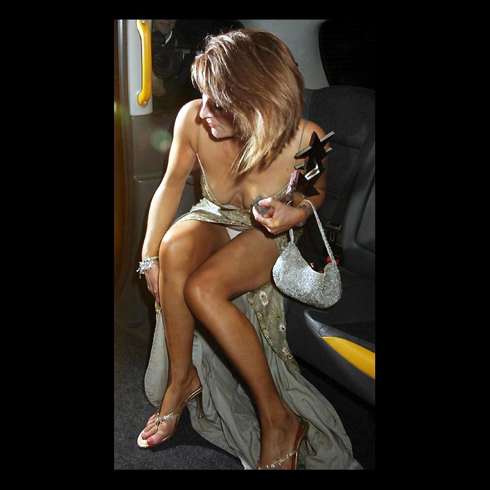 Zoe Lucker Upskirt 6