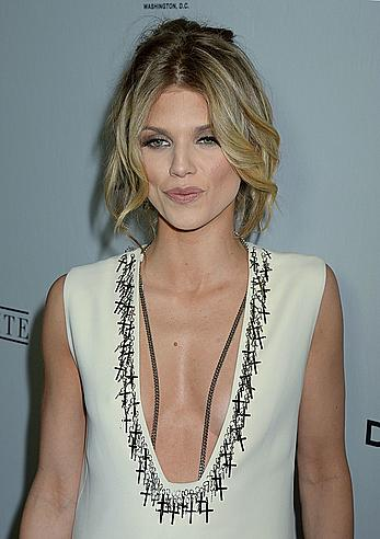 AnnaLynne McCord posing at Creative Coalition's Celebration of Arts in America