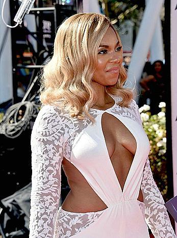 Ashanti sexy at the 2014 BET Awards in LA
