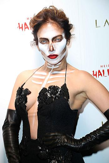 Jennifer Lopez at Heidi Klum Halloween party