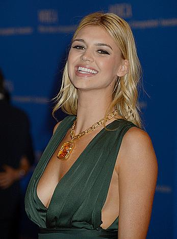 Kelly Rohrbach at White House Correspondents Dinner