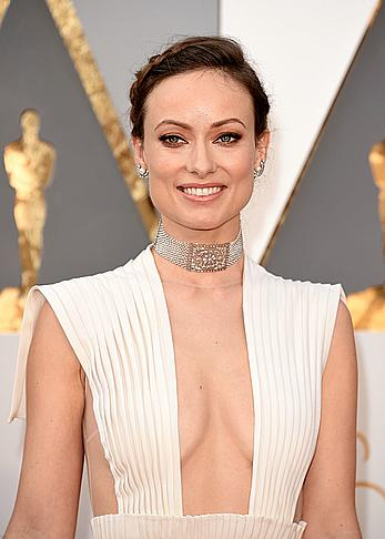 Olivia Wilde looking sexy at 88th Annual Academy Awards in Hollywood