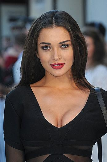 Amy Jackson sexy cleavage at Magic Mike XXL Premiere