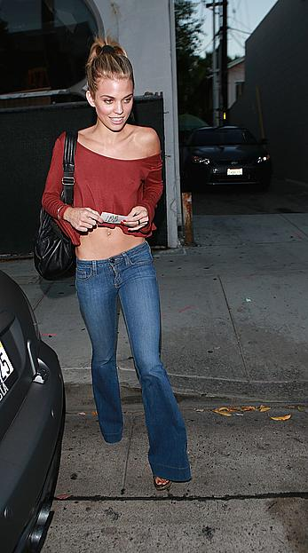 Annalynne McCord pokies in West Hollywood