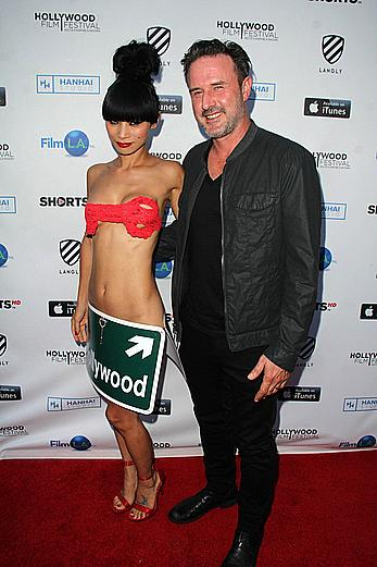 Bai Ling sexy at 2015 Hollywood Film Festival Opening Night Gala