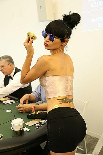 Bai Ling at 2nd Annual Peace Fund Celebrity Poker Tournament