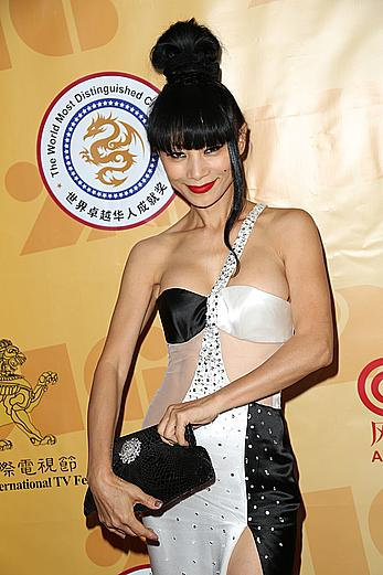 Bai Ling sexy posing at American International Television Festival in Beverly Hills