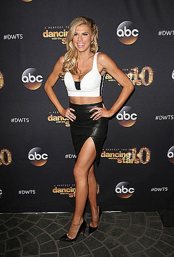 Charlotte McKinney legs and cleavage at the Dancing With The Stars cast party