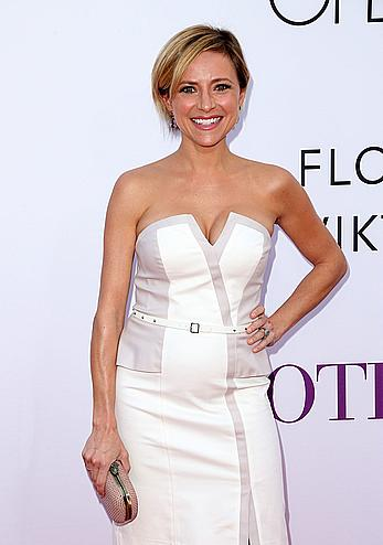Christine Lakin posing at Mother's Day premiere