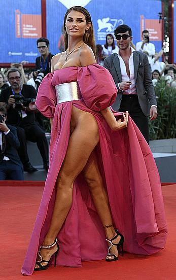 Dayane Mello sexy at Brimstone premiere 73rd Venice Film Festival