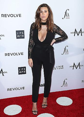 Devin Brugman cleavage at Daily Front Row's 3rd annual fashion Los Angeles awards