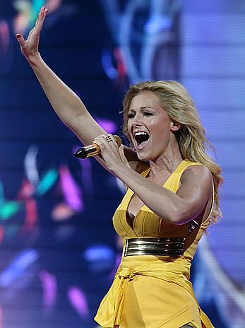 Helene Fischer at Stadion Tour in Rostock