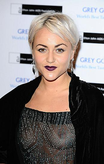 Jaime Winstone nude tits under see through dress