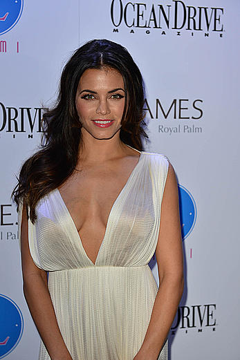 Jenna Dewan-Tatum shows sexy cleavage at Ocean Drive Magazine 21st anniversary issue party in Miami