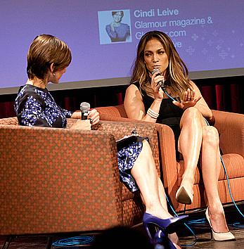 Jennifer Lopez exposed her great legs at Global Movement of Mothers