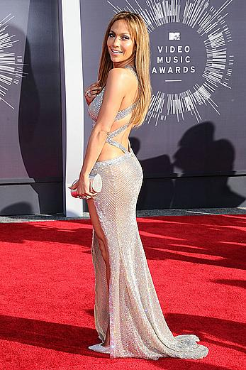 Jennifer Lopez sexy at 2014 MTV Video Music Awards in Inglewood