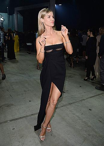 Joanna Krupa sexy at the Dawid Wolinski fashion show in Warsaw
