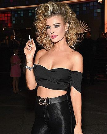 Joanna Krupa sexy at Casamigos Halloween party
