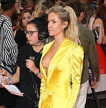 Kristin Cavallari boob slip at MuchMusic Video Awards in Toronto