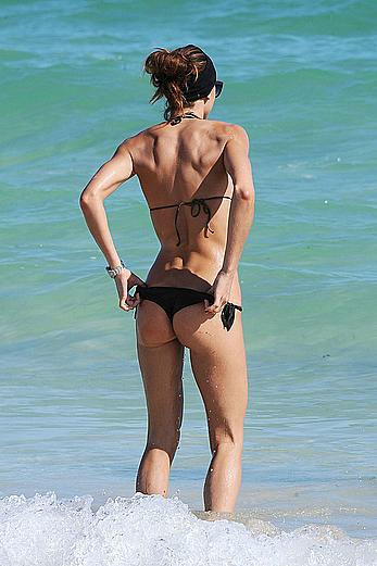 Nena Ristic in bikini on the bebach