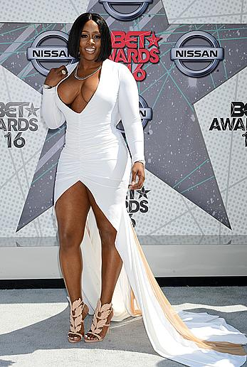 Remy Ma at 2016 BET Awards at Microsoft Theater in Los Angeles