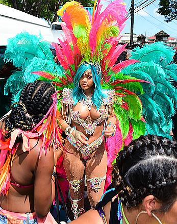 Rihanna looking sexy at carnival in Barbados