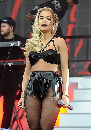 Rita Ora performs at New Look Wireless Birthday party