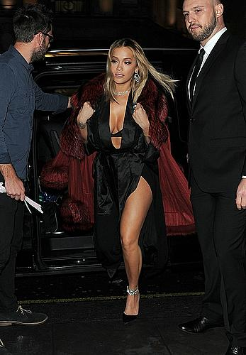 Rita Ora Tezenis italian underwear capsule collection event in London