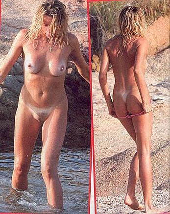 Silvia Rocca fully nude paparazzi photos