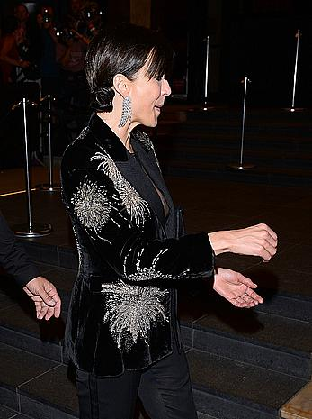 Sophie Marceau areola slip at Cannes Film Festival