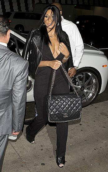 Tamar Braxton and Vince Herbert were seen arriving for dinner at Mr. Chow restaurant