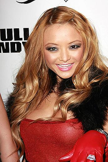 Tila Tequila flashing a nipple at release party for Snoop Dogg