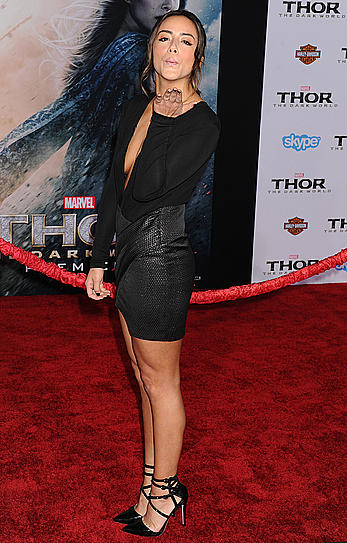 Chloe Bennet sexy at Thor The Dark World premiere in Hollywood