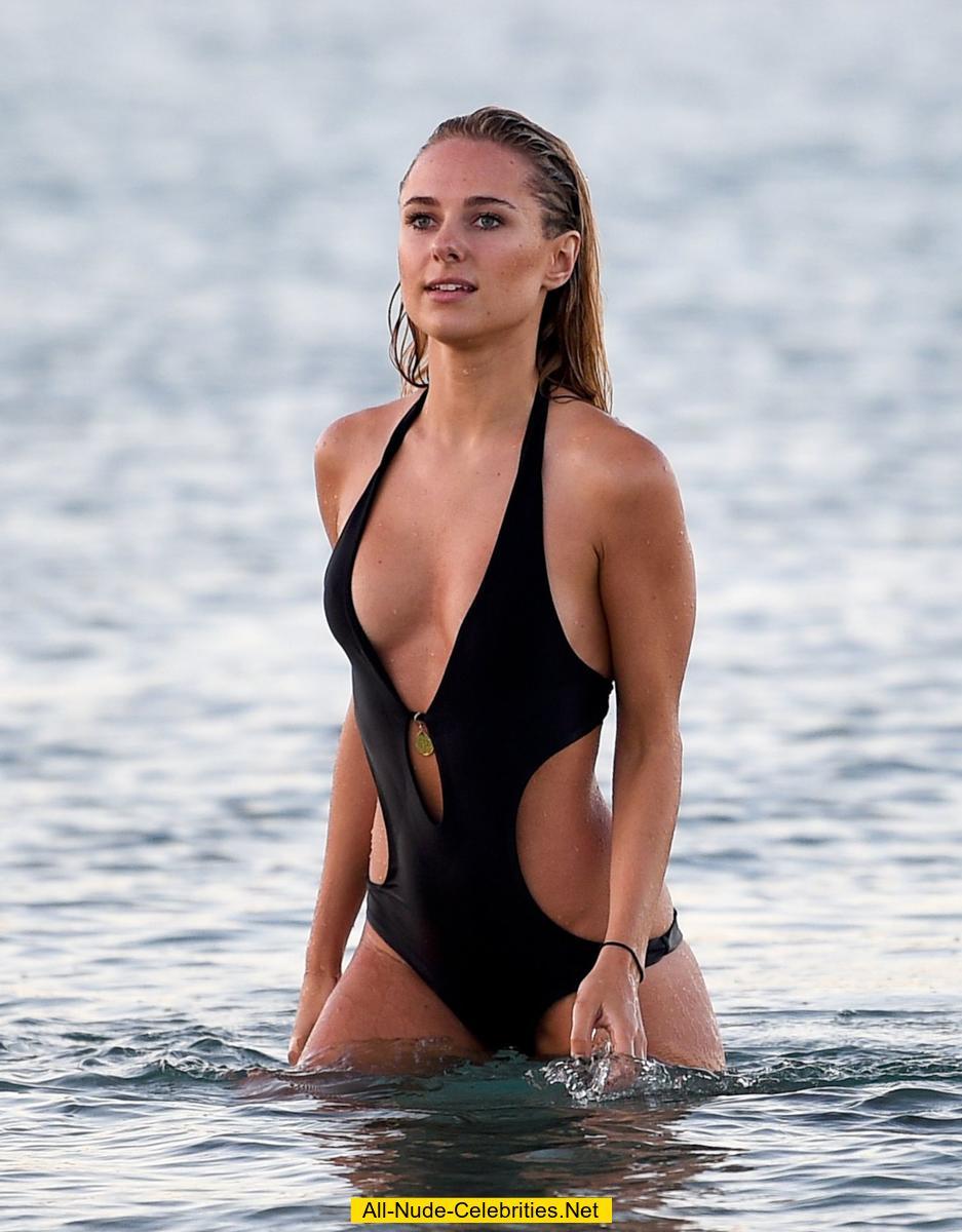 kimberley garner swimsuit candids in st tropez