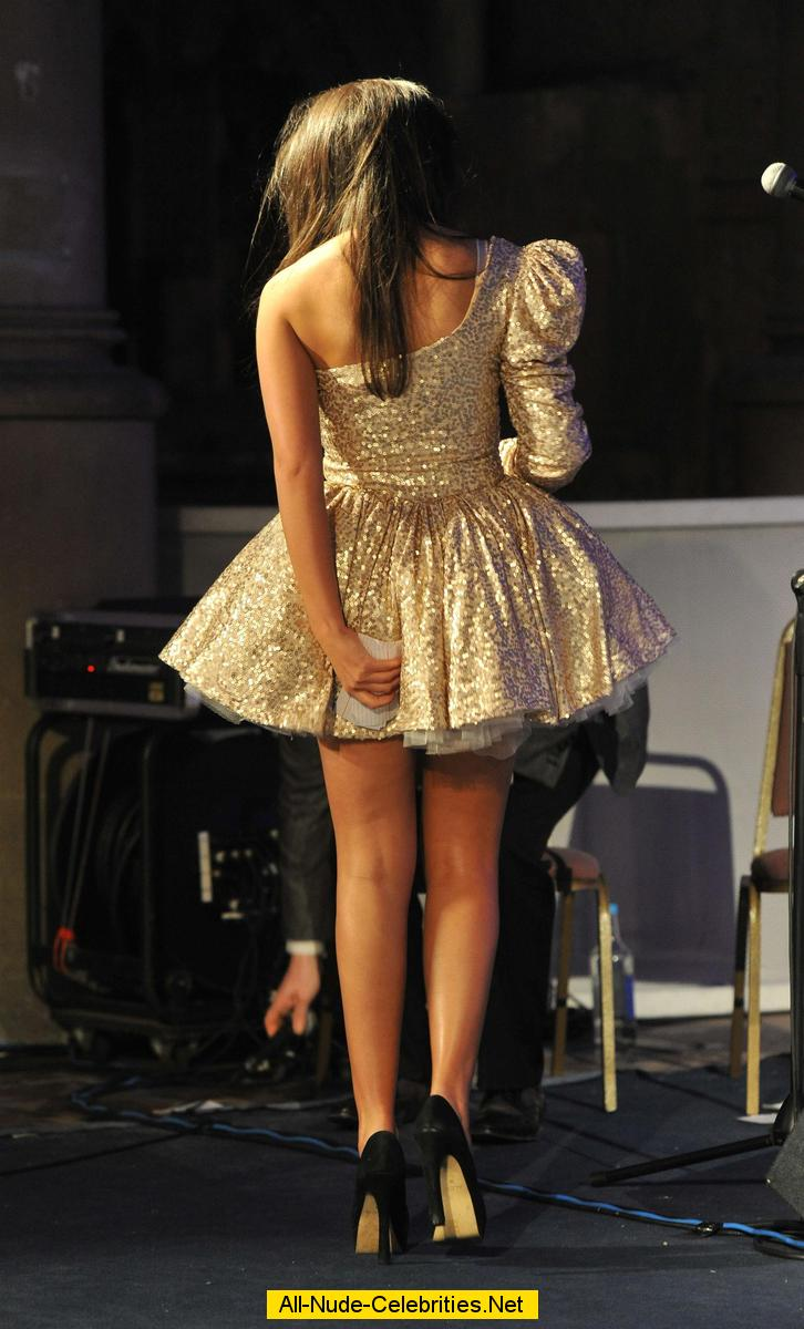 Michelle Keegan shows legs at fashion show: www.celebcafe.net/m/michelle_keegan_04/topcelebs.html