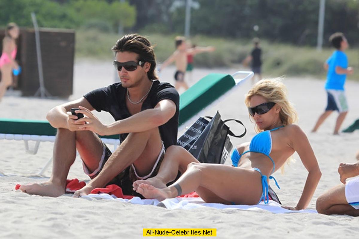 Shauna sand nude beach please
